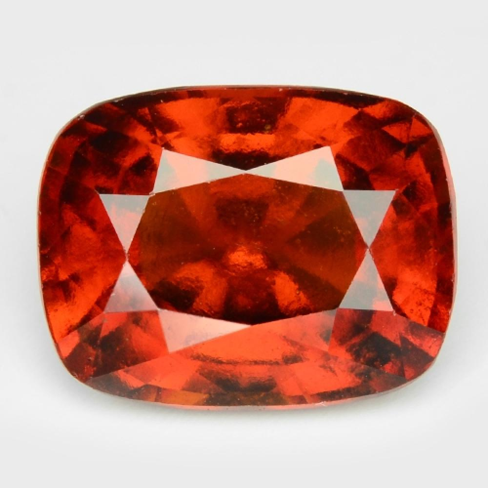 8.55 Carat Excellet Top Sparkling Brown Color Natural Hessonte Garnet Gemstone