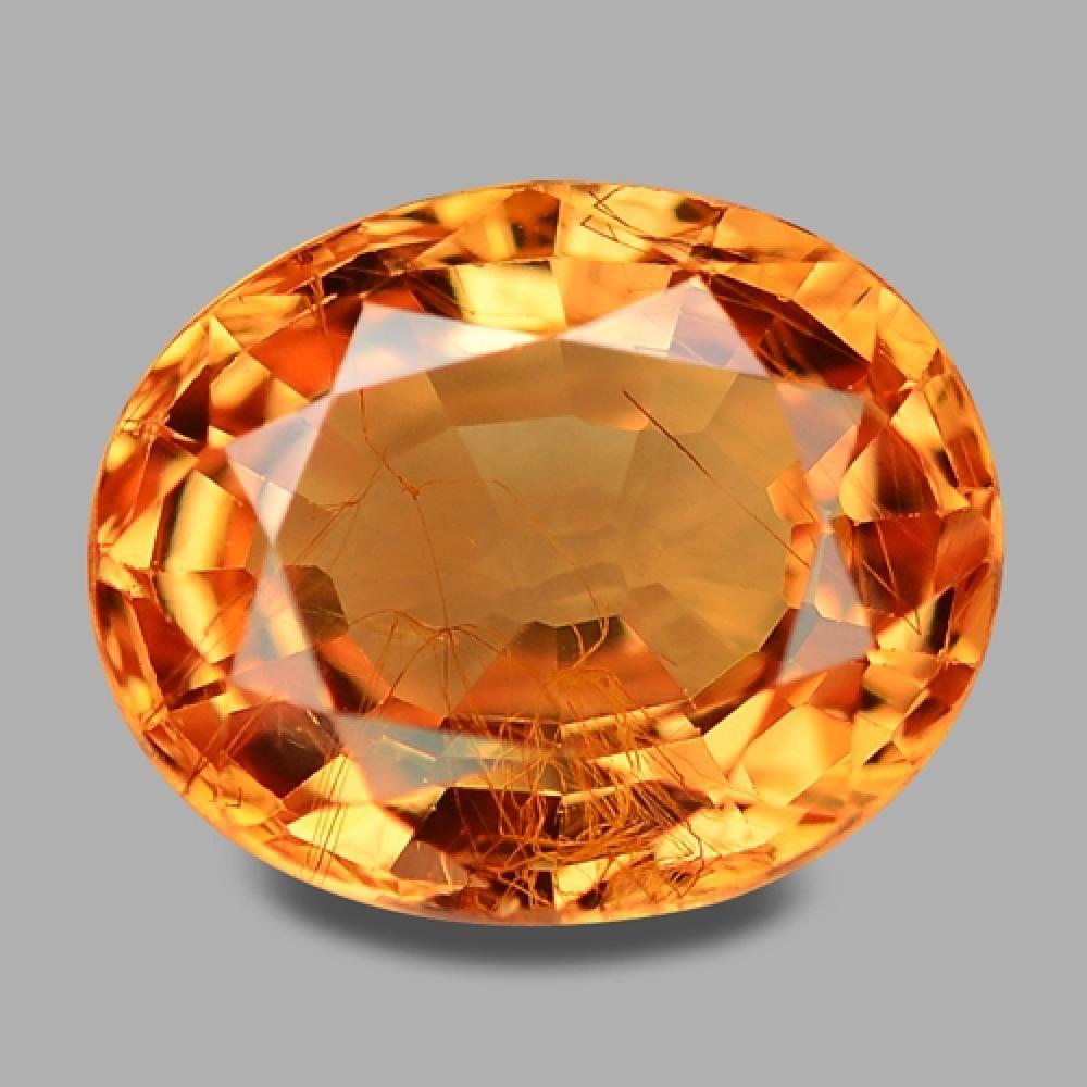 2.08 Carat Sparkling Rare Fanta Orange Color Natural Mandarin Garnet