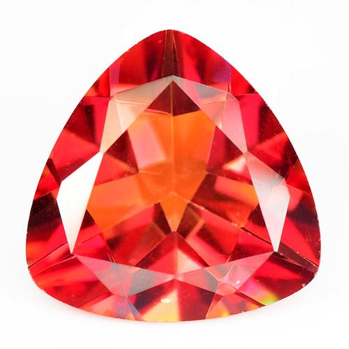 10.62 Carat High Quality AAA Orange Red Color Natural Mystic Topaz Gemstone