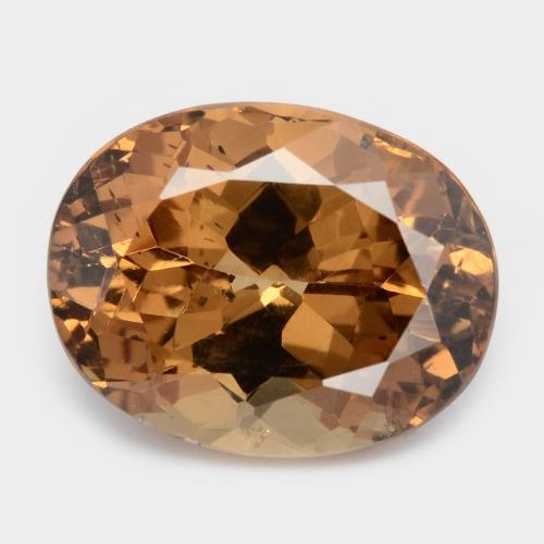 2.88 Carat Excellent Fancy Brown Color Natural Brown Zircon Loose Gemstone
