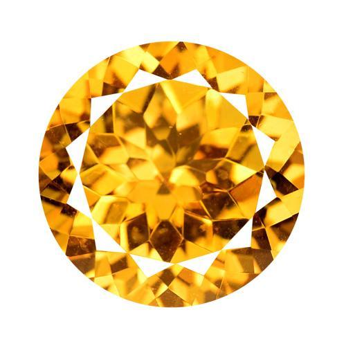 11.34 Carat AAA Top Orange Color Natural Mystic Topaz Loose Gemstone