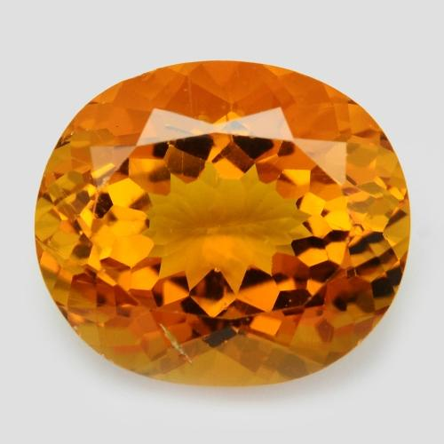 5.21 Carat AAA Golden Yellow Color Natural Beryl Loose Gemstone