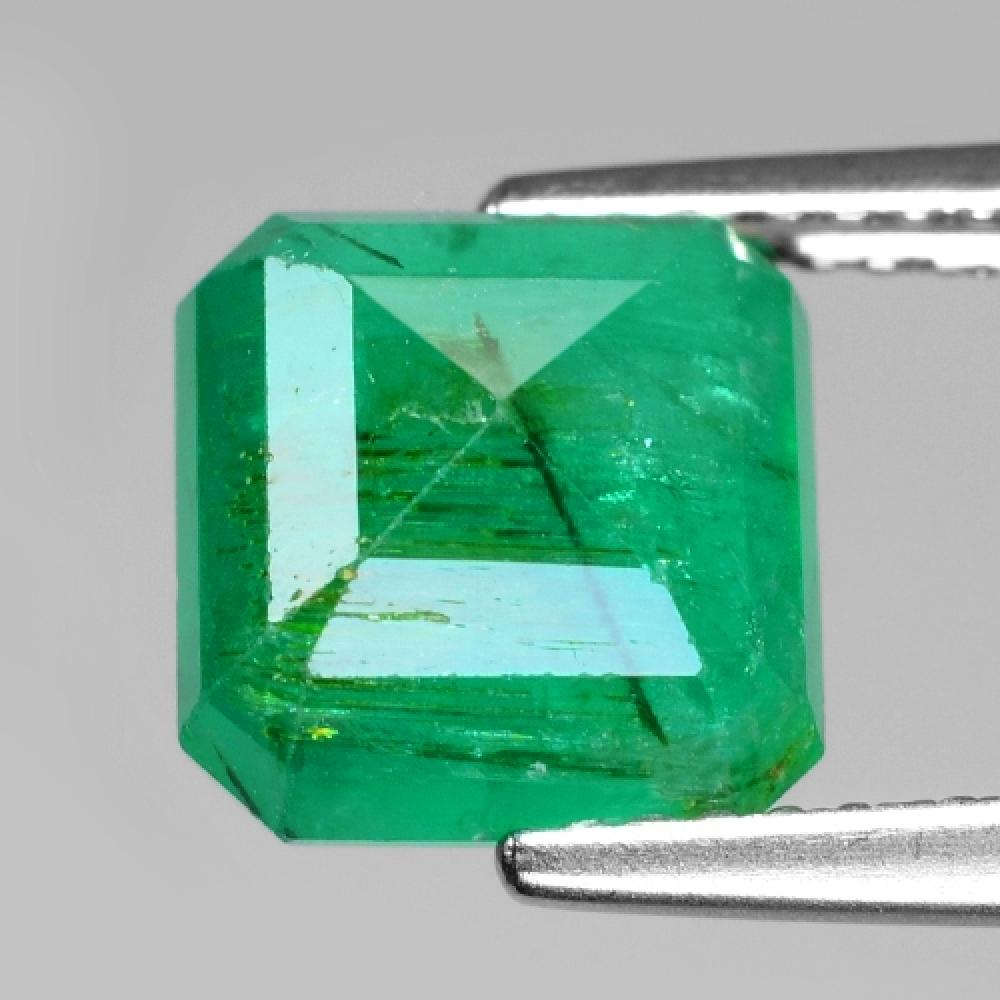 3.39 Carat Wow Amazing Green Color Natural Zambia Emerald Loose Gemstone