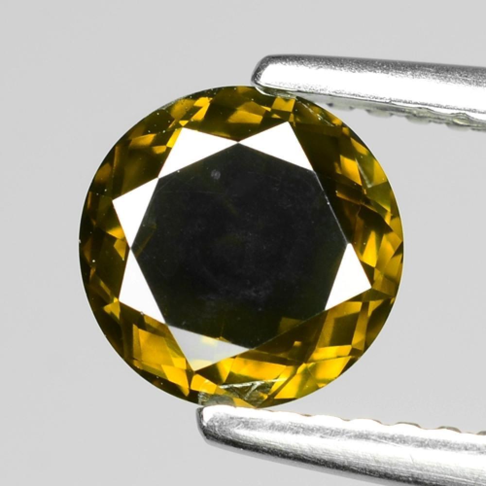 1.28 Carat Fancy Deep Green Color Natural Loose Diamond