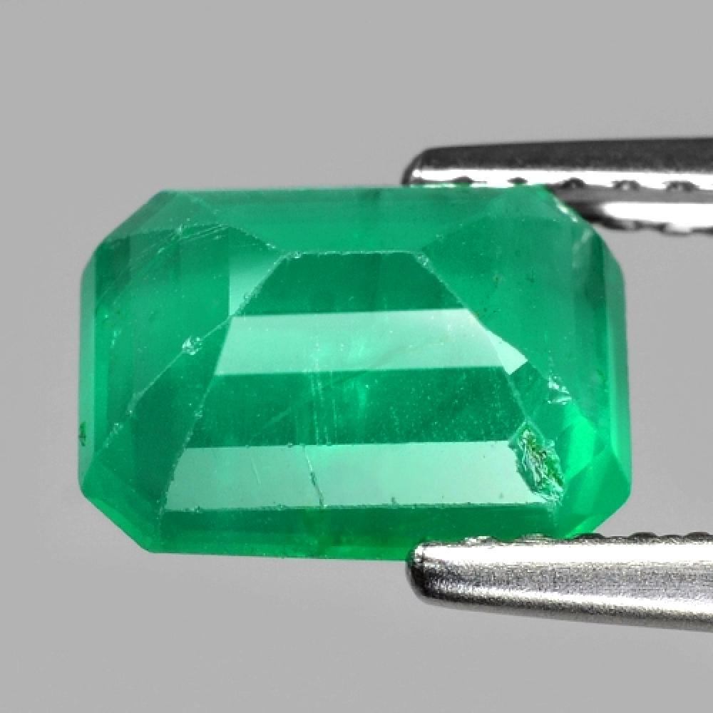1.89 Carat Rare Colombian Green Color Natural Emerald Loose Gemstone