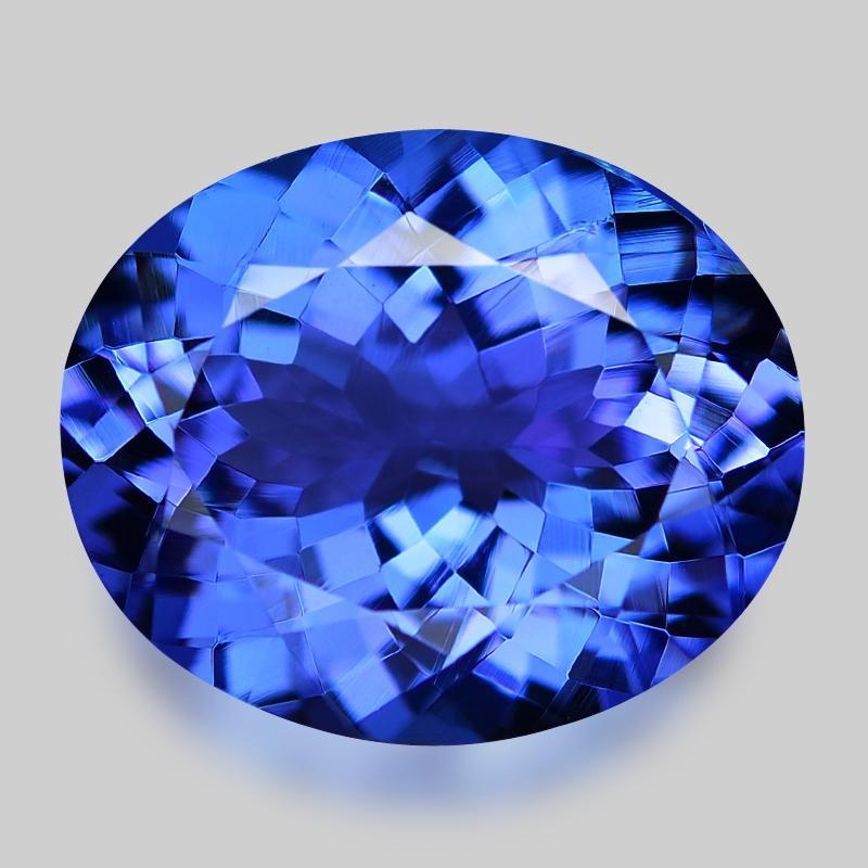 4.49 Carat Fancy AAA Blue Color Natural Tanzanite Loose Gemstone