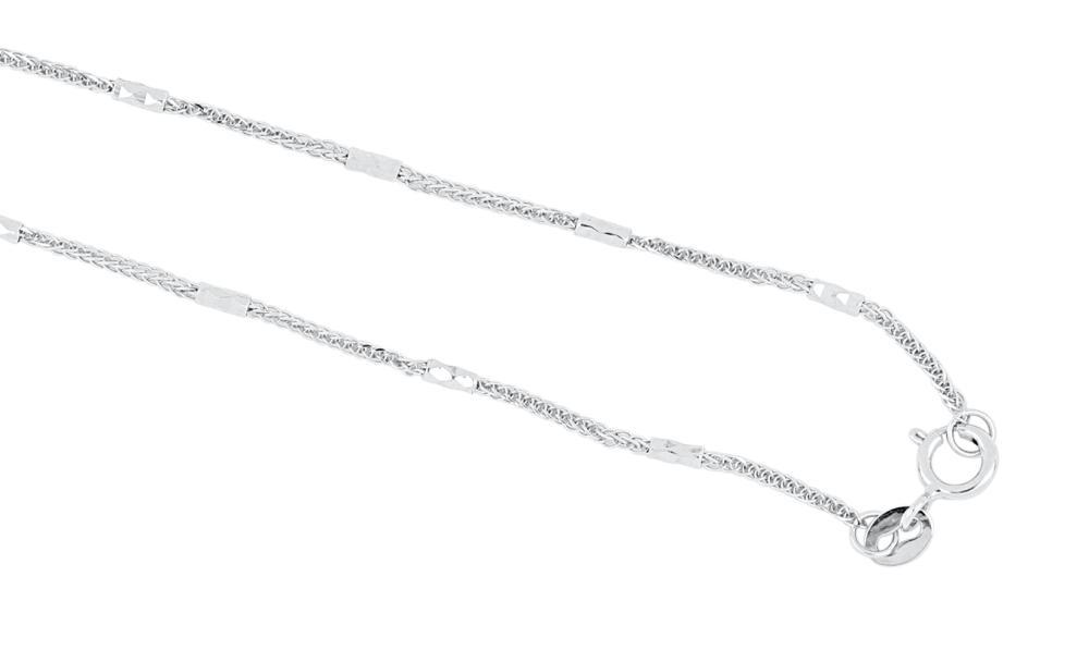 18k white gold diamond, coral, ruby & onyx brooch/pendant on 18k chain