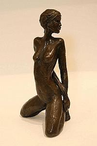 """BOYD, LENORE (b. 1953)"" A female nude ""Bronze,"