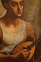 Bellette, Jean Mary. (1908 - 1991) Lute Player., Jean Mary Bellette, Click for value