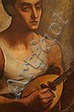 Bellette, Jean Mary. (1908 - 1991). Lute Player., Jean Mary Bellette, Click for value
