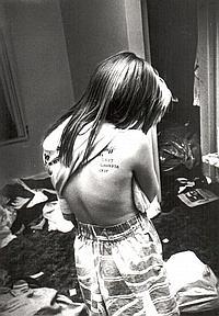 Lost Gangsta Crip, Photo: Jim Goldberg 1991.