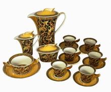 Rosenthal Versace Coffee Set