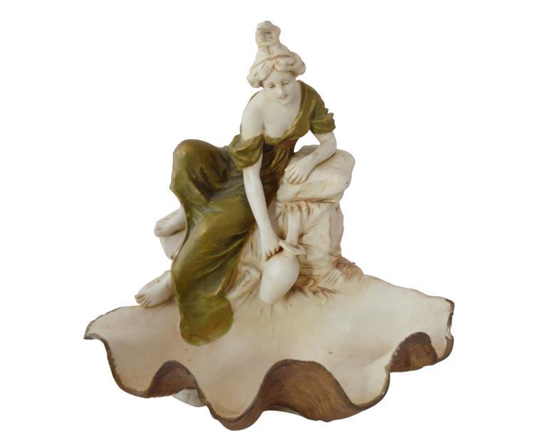 Antique Royal Dux Porcelain Figurine