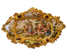 Italian Hand-Painted Large Platter