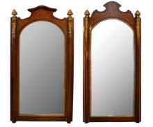 Pair of Empire Style Mirrors