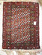Small Wool Hand-woven Rug: