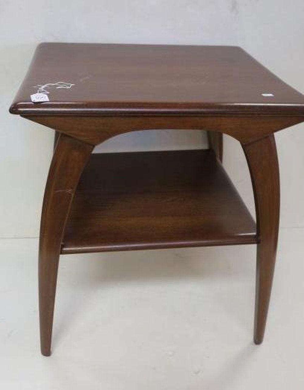 - Mid-Century Modern HEYWOOD-WAKEFIELD Side Table: