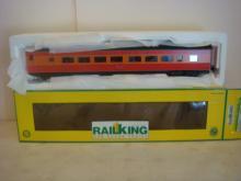 RAIL KING 70-65001-C, 70' SP STREAMLINED PASSENGER CAR