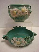 Two ROSEVILLE PEONY Bowls: