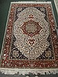 Flat weave Wool and Cotton Persian Style Rug: