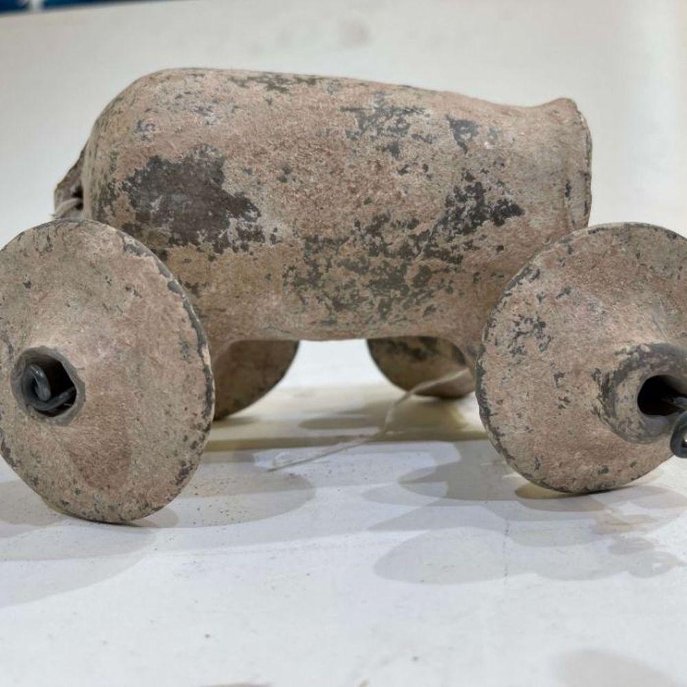 1st millennium BC clay toy water tanker Amlash period