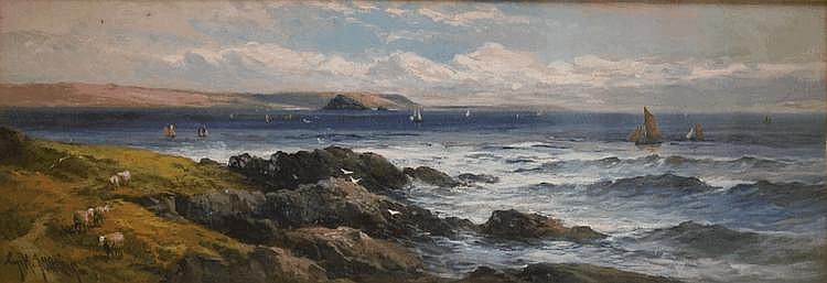 GEORGE HENRY JENKINS (1843-1914) oil on board 'A