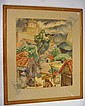 Bertram Goodman signed Watercolor: Mexican, Bertram A Goodman, Click for value