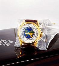 PATEK PHILIPPE, WORLD TIME, REF. 5131J, CIRCA 2012