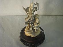Antique Japanese Ivory Carving