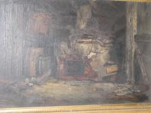 Antique Interior painting/Historic House G.W. Whitaker