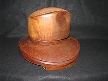 Stetson type hat mold