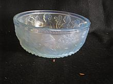 Important Paul Sabino art glass bowl