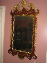 Margolis mirror of the highest Chippendale style