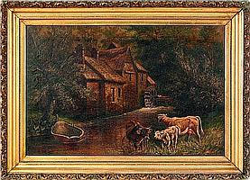 Charles Boizard, late 19th/early 20th, oil on