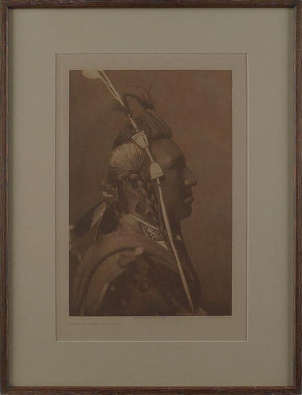 Edward S. Curtis photogravure of Swallow