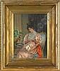 Arturo Ricci (Italian, 1854-1919), oil on canvas, Arturo Ricci, Click for value