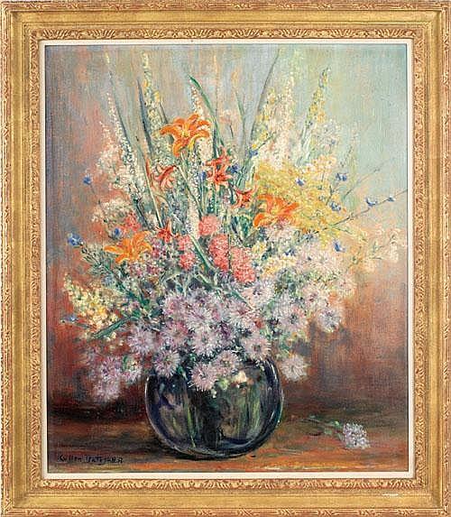 Cullen Yates (American, 1866-1945), oil on canvas