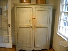 Canadian Painted two door Armoire