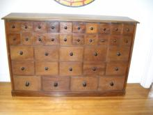 34 Drawer English Apothecary from a Pharmacy