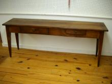 French Cherry Serving Table