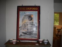 The Oxford English Metal Pub Sign