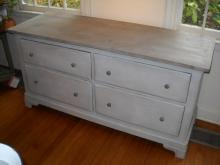 Four drawer Painted Dresser Base