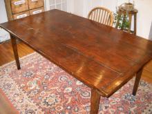 Reproduction Oak Farm Table