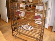 Shoe Drying rack with original castors