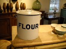 Metal Flour Bin From the UK