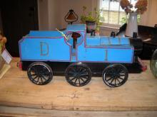 English Blue Toy Train