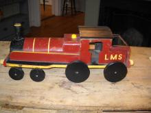 English toy Red/ Yellow Train