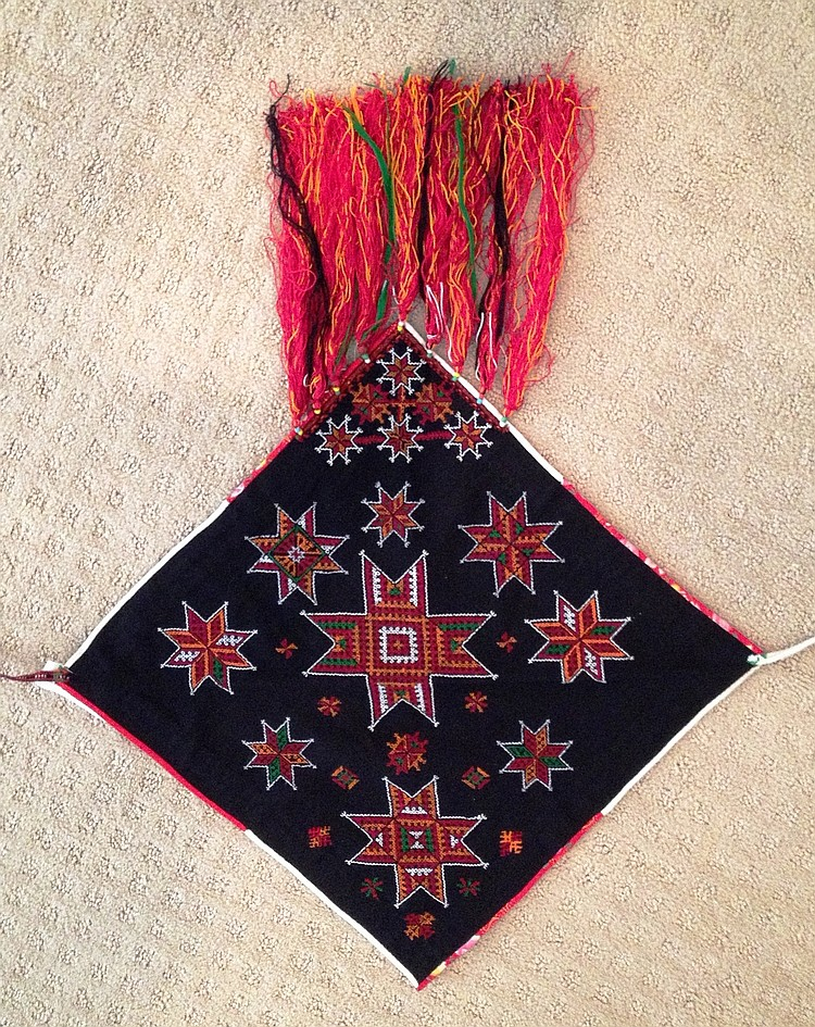 posner ethnographic hmong scarf