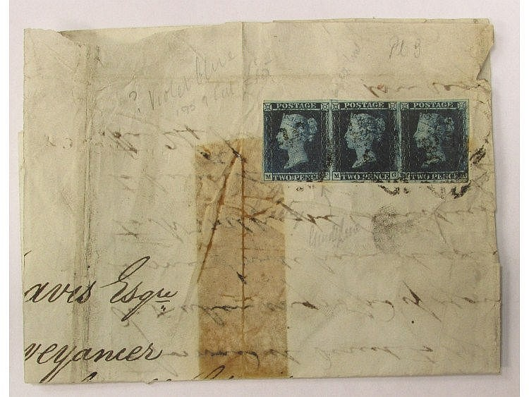 Partially complete letter dated April 18 1843