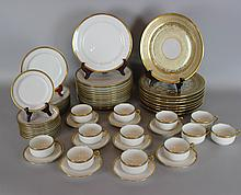 WM. GUERIN & CO. LIMOGES AND HAVILAND DINNER SERVICES
